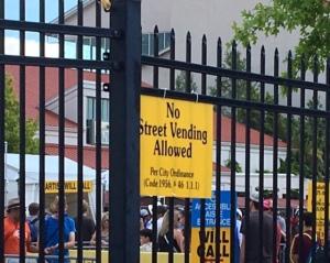 no vending