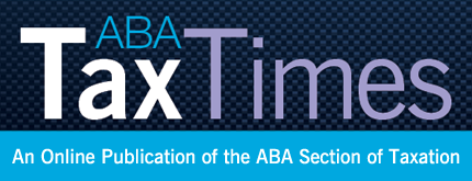 Time for the ABA/Tax Times!